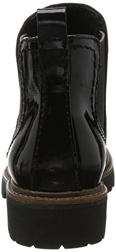Mujer Stpcom para Chelsea Tozzi Marco Negro Botas 25412 Black 6Tn8x