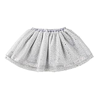 Stephan Baby My First Tutu Available in 5 Styles, Silver Sparkle Tulle, Fits 6-18 Months