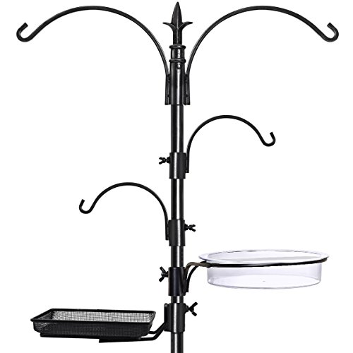 Electric Lighthouse (GrayBunny GB-6844 Premium Bird Feeding Station Kit, 22