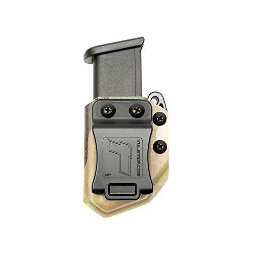 (Tulster Universal 9mm/.40 Double Stack Mag Carrier Echo Carrier IWB/OWB (Multicam))
