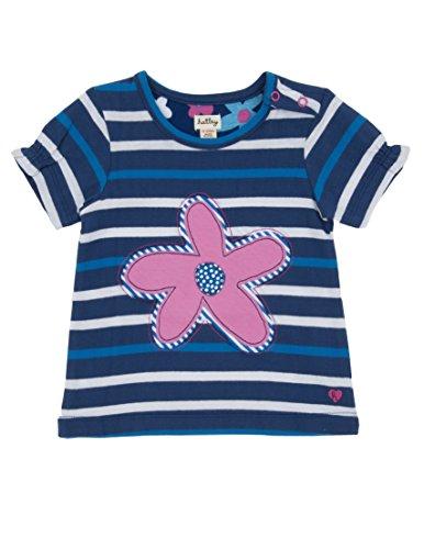 Summer Hatley Garden (Hatley   Baby Baby Girls' Girls' Tee Summer Garden, Blue, 6 12 Months)