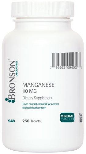 Manganèse - Mg 10. (250)