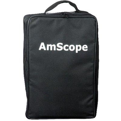 Microscope Case (AmScope CB-B600 Microscope Vinyl Carrying Bag Case (Large))