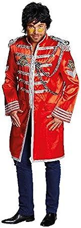 Faschingskostüm Sgt. Pepper rot für Herren