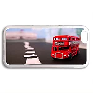 Andre-case Customized Classic British London Red Bus iphone 5s 5sJISZsjmHbf 4.7 TPU Rubber Transparent case cover, cell phone Cover