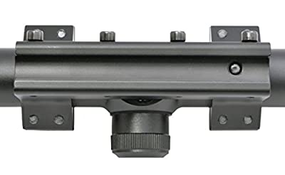 Hammers - Air Gun Rifle Scope 3-9x40AO Magnum Spring with One Piece Mount, Black