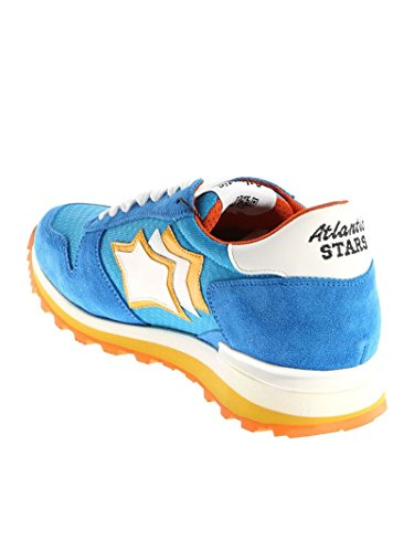 Atlantic Stars Sneakers Uomo SIRIUSCDPRAZBB Pelle Azzurro