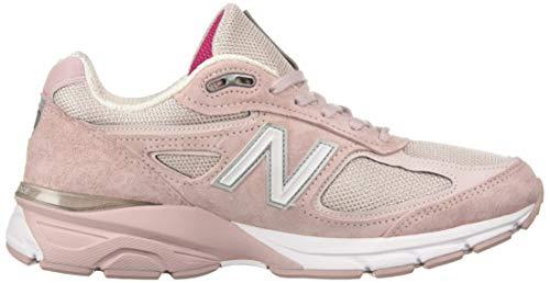 New Balance Men's 990v4 Running Shoe, Faded Rose/Komen Pink, 7 D US by New Balance (Image #6)