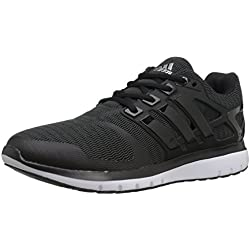 adidas Originals Women's Energy Cloud V Running Shoe, Black/Black/Dark Grey Heather, 7.5 M US