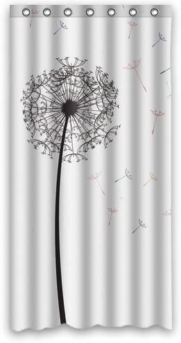 Vandarllin Custom Personalized Dandelion Shower Curtain 36x72 inches