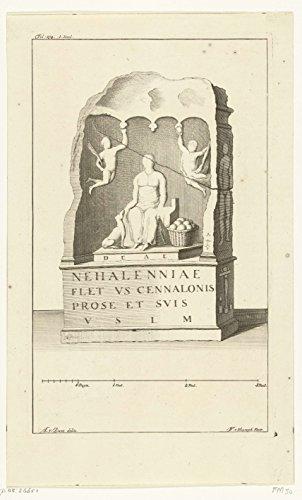 Classic Art Poster - Altar of the Roman goddess Nehalennia, François van Wyck Bleys, 1732 -. 1734 11