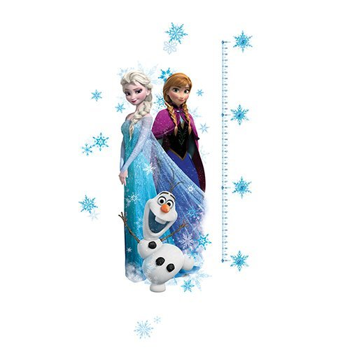 RoomMates Disney Frozen Elsa, Anna And Olaf Peel And Stick Giant Growth Chart