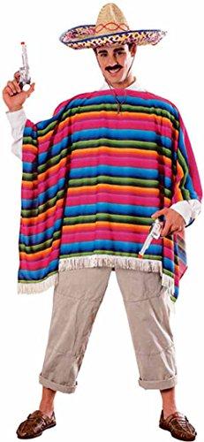 Mexican Serape Sombrero Set 15750