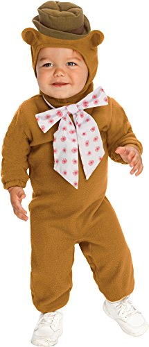 The Muppets Romper Costume, Fozzie Bear, Toddler Size