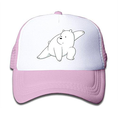 Panther Pink Costume Suit (Elephant AN Kung Fu Polar Bear Mesh Baseball Cap Kid Boys Girls)
