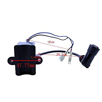FLYPIG High Performance CDI Ignition Coil for 49cc 50cc 60cc 66cc 80cc 2-Stroke Engine Motorized Bicycle Bike ATV Quad Go Kart Moped Scooter: Automotive