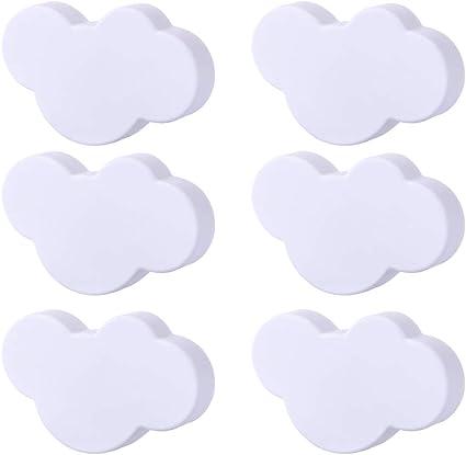 Yavso Pomelli per Mobili Bambini 10 Pezzi Nuvola Pomelli per Cassetti Maniglie per Mobili dei Cameretta Bambini