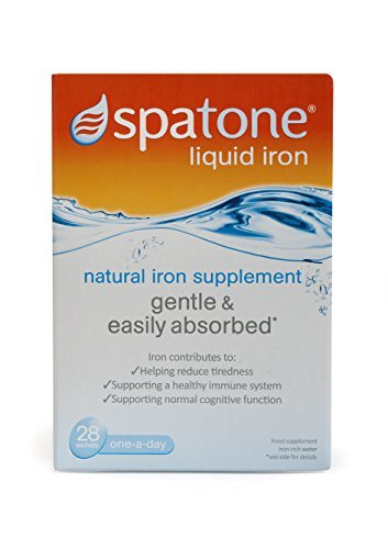 Nelsons Spatone 100% Natural Iron Supplement--28 Sachets (Packaging May Vary) by Spatone