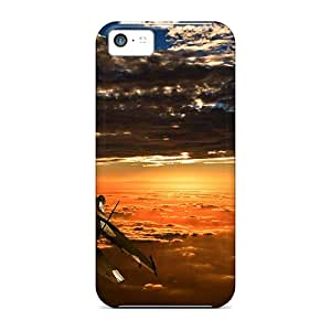 Awesome Design Jet In Sunset Hard Cases Covers For Iphone 5c