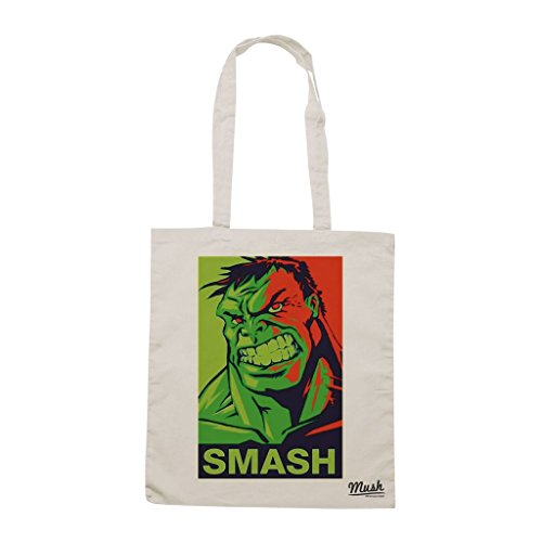 Borsa Hulk Smash - Panna - Film by Mush Dress Your Style