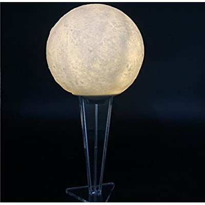 3D Moonlight 15 CM Télécommande Édition SSDA Creative Led Chambre Chevet 3D Moonlight Table Lampe Veilleuse