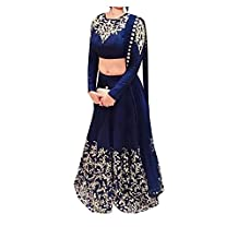 RGN-Retails India Bazaar Womens Cotton Salwar Suit Set_ 1701_Blue