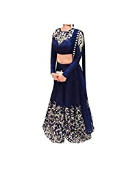 RGN-Retails India Bazaar Womens Cotton Salwar Suit Set_ 1701_Blue