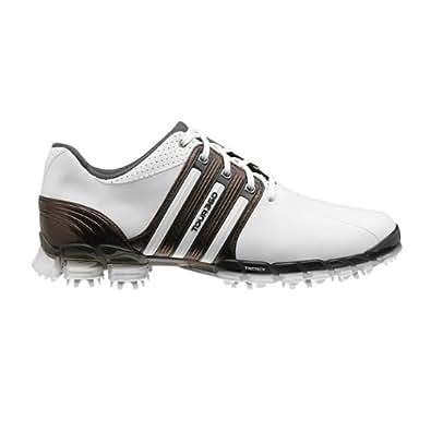 Adidas Tour360 ATV Golf Shoes White/Scout Metallic/White Men's 11.5 Wide