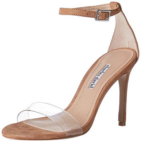 CHARLES DAVID Women's Carla Pump Nude 6.5 M - Sandals Heel High Charles