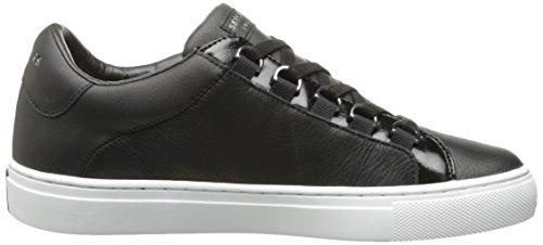 Street Donna Skechers Allenatori Side black Nero fFwFW56qR