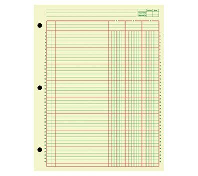 OfficeMax Analysis Pad, 13 Column, 2 Pack by OfficeMax
