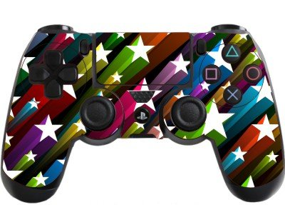 the grafix studio Stars Playstation 4 (Ps4) Controller Sticker / Skin / Wrap / ()