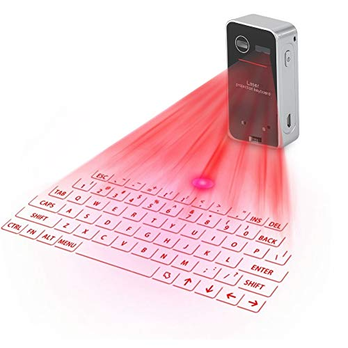 Tangxi Mini Virtual Holographic Mouse Wireless Projection Bluetooth Virtual Keyboard for Smart Phone PC Tablet Laptop Pad