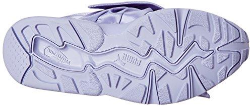 X Satin Rihanna Sneaker Puma Schleife Damen von Lilac Fenty U46FqYw