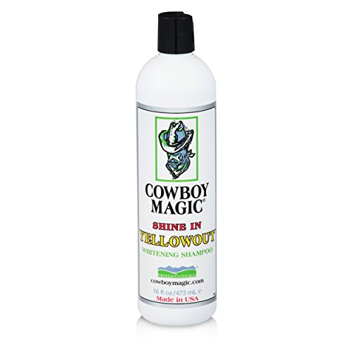 Cowboy Magic SHINE IN YELLOWOUT BRIGHTENS HAIR OF ALL COLORS Shampoo 16 ounce