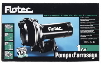 SPINKLER PUMP COMP 1HP by FLOTEC MfrPartNo FP5162 by Flotec