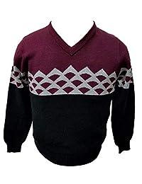 Viero Richi Sweater V Neck 100% Cotton for Boys Style 2414