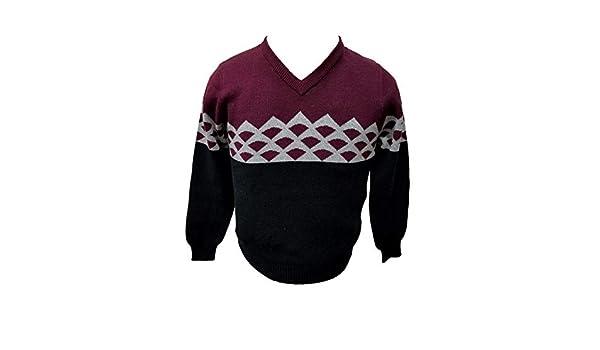 Viero Richi Sweater V Neck 100/% Cotton for Boys Style 2414