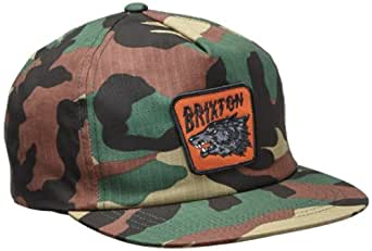 Brixton Men's Tex Snap Back, Camo, One Size