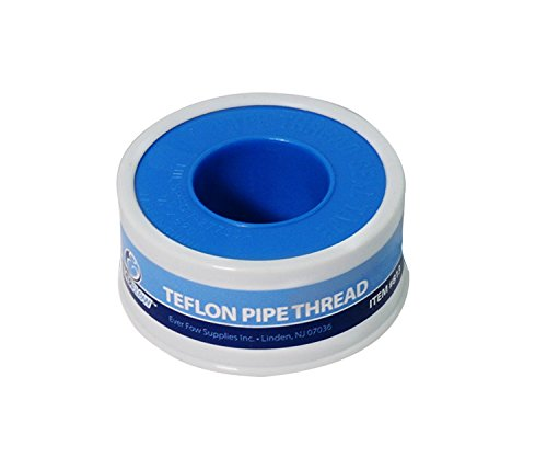 Ptfe Seal Tape (Everflow 812 Teflon Tape Seal Pipe Threads, PTFE 3/4 Inch x 260 Inch)