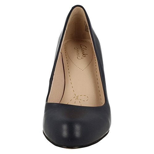 Clarks Navy Womens Carlita Cove 9 Formal Shoes gxr0gw7v