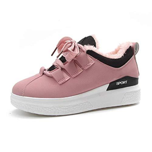 Zhrui Flat Eu Comodo Platform Donna Sneakers Colore Scarpe 36 Nero YzIwz