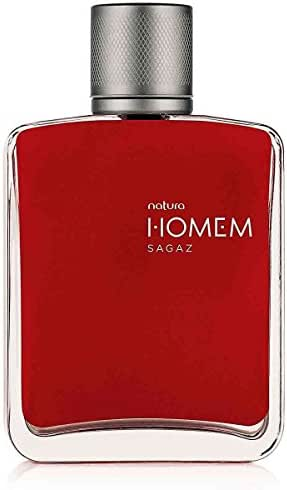 Linha Homem (Sagaz) Natura - Deo Parfum 100 Ml - (Natura Men (Sagacious) Collection - Eau De Parfum For Men 3.38 Fl Oz)