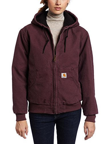 Carhartt Women S Quilted Flannel Lined Sandstone Active