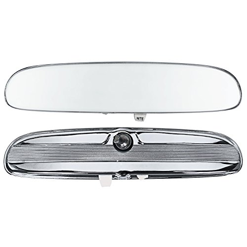 Day-Nite Night Cntrl Chrome Finish Interior Rear-View Mirror 1964-65 Mustang Shelby GT-350/-350H (C5ZZ-17700DN)