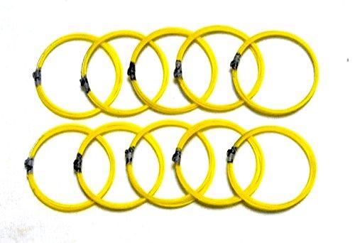 Nagauta Shamisen 3rd string, 10-strings pack 12-3 Silk w/import shipping 三味線 長唄 三の糸 10本セット 絹 12-3 by Kawai-JPN Traditional Instruments