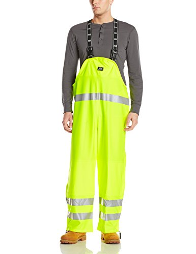 Helly Hansen Workwear Men's Narvik High Visibilty Bib Pant -  Helly Hansen Work Gear, 70570