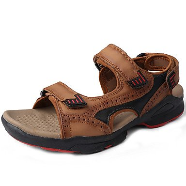 Comfort US9 Outdoor Water Nappa 4In RTRY 3 Light 1 Shoes Unisex Leather EU40 Comfort CN41 Spring Summer Dress UK7 Sandals 1In Brown xqUw0qP