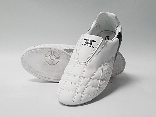 Tusah-Taekwondo-TKD-White-Indoor-Martial-Arts-Shoes