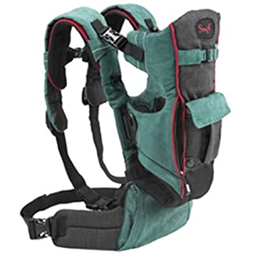 55c165ea411 Image Unavailable. Image not available for. Color  Evenflo Snugli Front   Back  Pack Soft Carrier ...